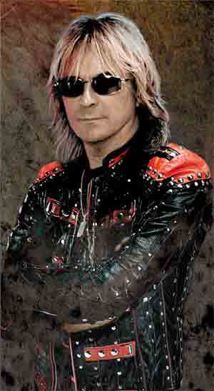 Glenn Tipton The guitars of Judas Priest rock band